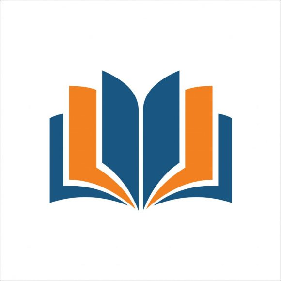 open book icon. Simple illustration of open book vector icon for web